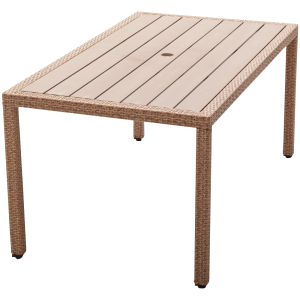 Strathwood Griffen All-Weather Wicker and Resin Dining Table_2