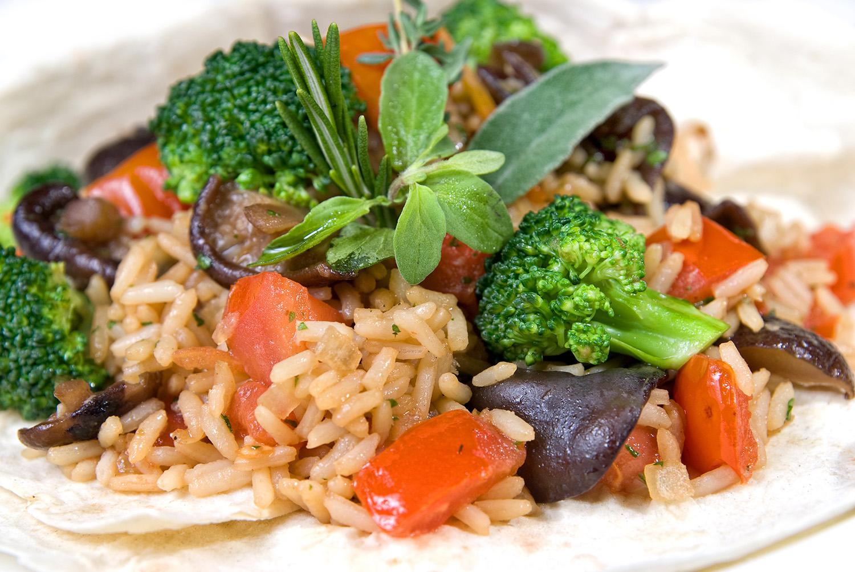 Вегетарианское ризотто рецепт