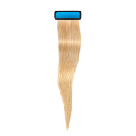 Light blond 18 inches straight pre taped european remy hair extensions