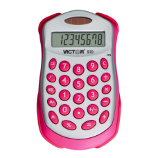 Victor Colorful Handheld Back to School Calculator
