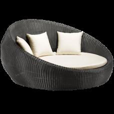 Anjuna Bed in Chocolate - Zuo Modern