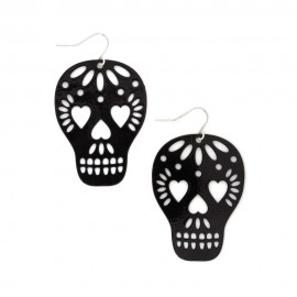 Too Close to Skull Earrings