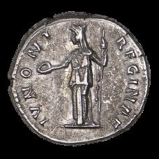 Augusta, AD 128-136. AR Denarius, Rome coin