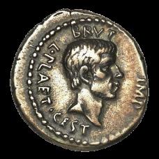 EID MAR denarius coin