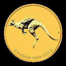 Mini Roo 0.5g Gold Bullion Coin