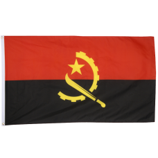 Angola 3ft x 5ft Nylon Flag
