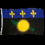 France Guadeloupe 3ft x 5ft Nylon Flag