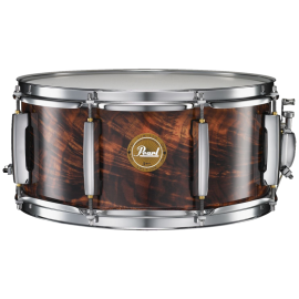 Pearl Artisan II Feathered Walnut Snare Drum