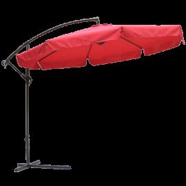 10' Market Umbrella in Autumn Red