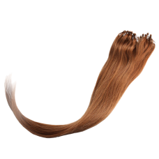 Yesurprise 20'' #12 Remy Loop-Micro Ring Extensions Human Hair Extension