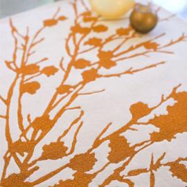 IndiB Branches Orange Rug