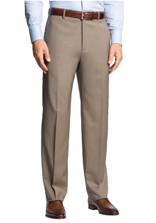 'Todd' Flat Front Trousers