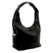 Large Leather Mia Hobo By Vitalio