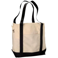 Econscious 100% Organic Cotton Canvas Boat Tote