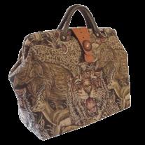 ArtisanStreet's Wildlife Tapestry Carpet Bag