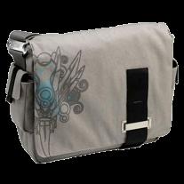 Fullsize Canvas Messenger Bag with Laptop Storage