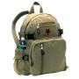 Rothco Kahki Vintage Star Back Pack with Red Star