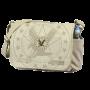 Vintage Khaki Messenger Bag with Exploded Army Eagle