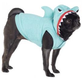 Dog shark hoodie