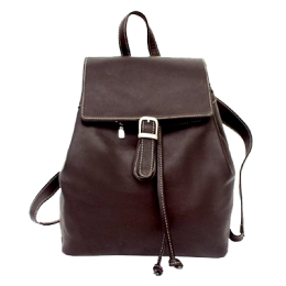 Piel Top Backpack