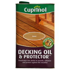 Cuprinol Decking Oil & Protector Natural