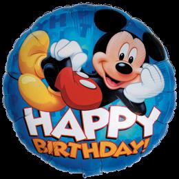 Mickey Happy Birthday 18'' Foil
