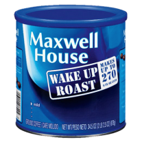Maxwell House Wake-Up Roast, Ground Coffee