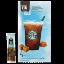 Starbucks VIA_ Ready Brew Caramel Iced Coffee