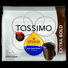 Gevalia Dark Italian Roast, 12-Count T-Discs for Tassimo Coffeemakers