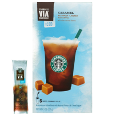 Starbucks VIA_ Ready Brew Caramel Iced Coffee