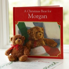A Christmas Bear Personalized Book & Bear