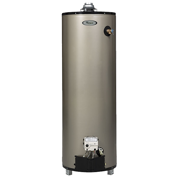 Whirlpool 6th Sense 50-Gallon 12-Year Tall Gas Water Heater (Natural Gas)