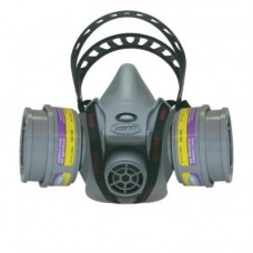 AO Safety 95090 Quicklatch PRO Dual Cartridge Respirator