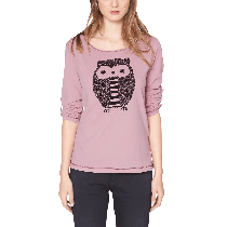 s Oliver Women's Crew Neck Long Sleeve Long Sleeve Top