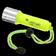Cree Xm-l T6 LED Diving Flashlight Submarine Lamp Underwater Torch Waterproof