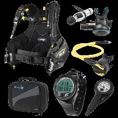 Oceanic Scuba Diving Gear Equipment Package
