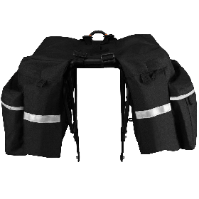 BV Bicycle Panniers with Adjustable Hooks