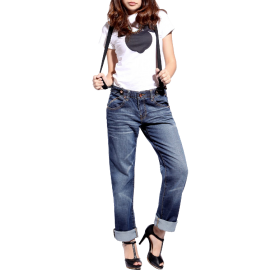 Fashion Womens Boyfriend Jeans