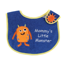 Luvable Friends Animal Closure Baby Bib
