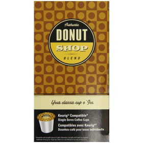 Authentic Donut Shop Blend Coffee Chocolate