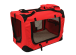 Crate with Fleece Mat and Food Bag