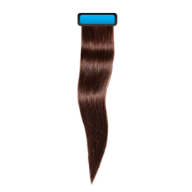 Chocolate brown 18 inches straight