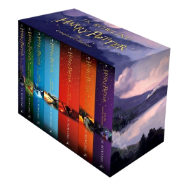 Harry Potter The Complete Collection 7 Books Set Collection J.K. Rowling