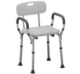 Quick Release Shower Chair with Back