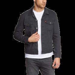 Men's Slim Denim Trucker Jacket