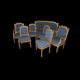 French 8 piece Salon Set