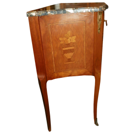 French Commode With Marble Top Circa 1920