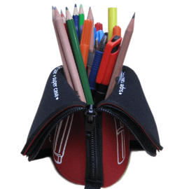 Pencilcase and Stationery Pot