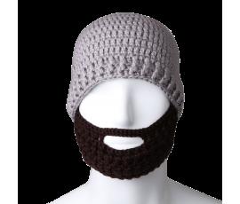 Unisex Knit Beanie Stubble Beard