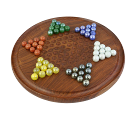 Marbles Handcrafted Wooden Toy